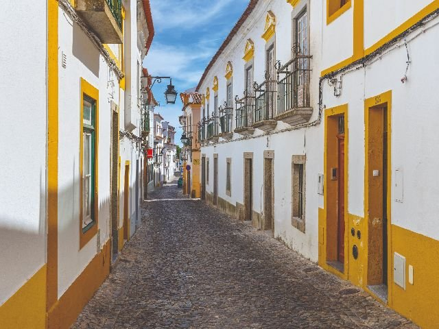 Portugal -Évora - straatbeeld