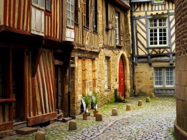 Bretagne Rennes oude centrum