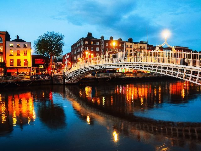 Ierland - Dublin - Ha Penny Bridge