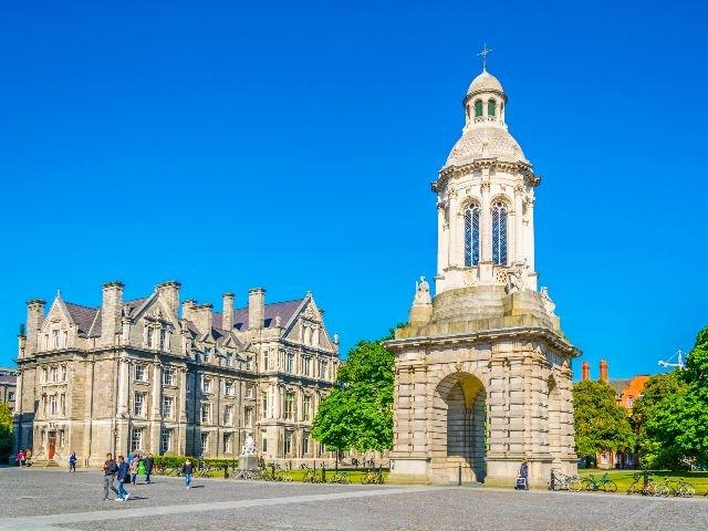 Ierland - Dublin - Trinity College Campanile