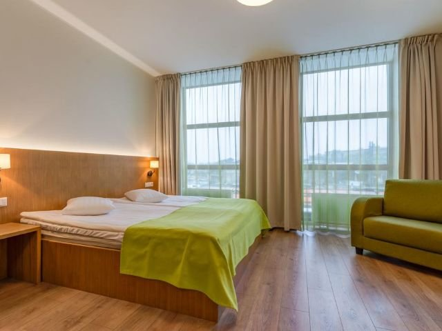 Tallinn - Hotel Shnelli *** - voorbeeldkamer