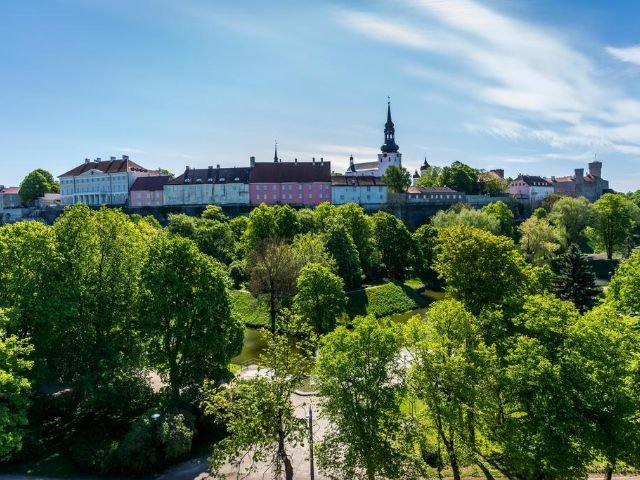 Tallinn - Hotel Shnelli *** - uitzicht