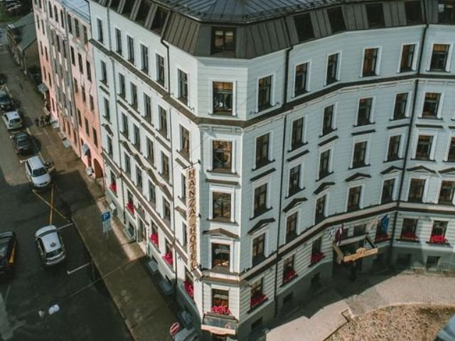Riga - Hotel Hanza *** - hotelaanzicht