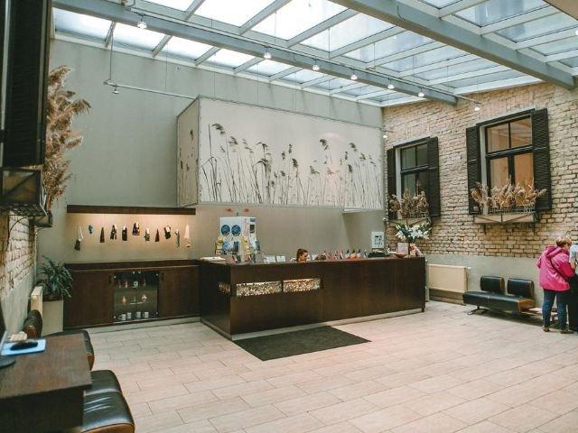 Riga - Hotel Hanza *** - receptie