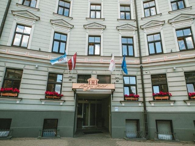 Riga - Hotel Hanza *** - entree