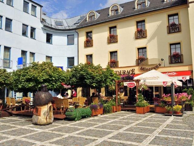 Vrchlabi - Hotel Gendorf *** - restaurant - hotelaanzicht