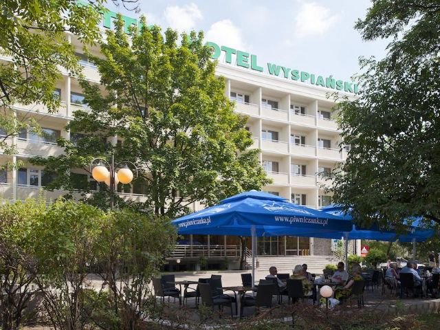 Krakau - Hotel Wyspianski *** - terras
