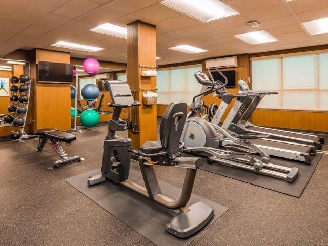 Best Western Carlton - fitnessruimte