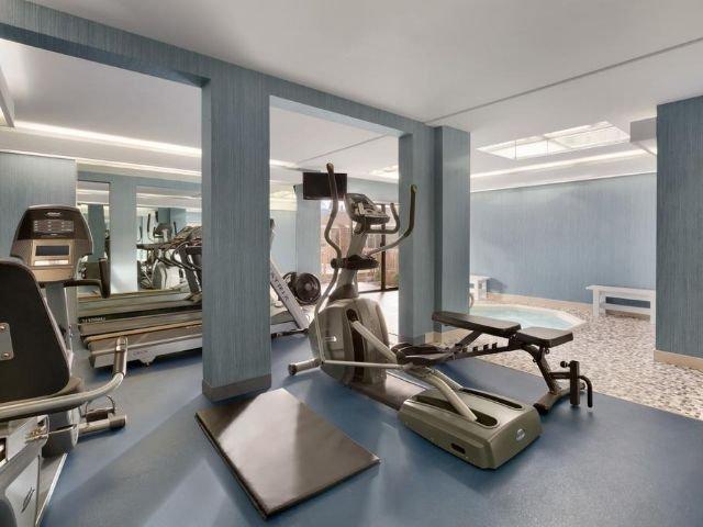 Coast Discovery Inn - fitnessruimte