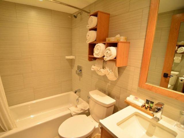 Banff Ptarmigan Inn - badkamer