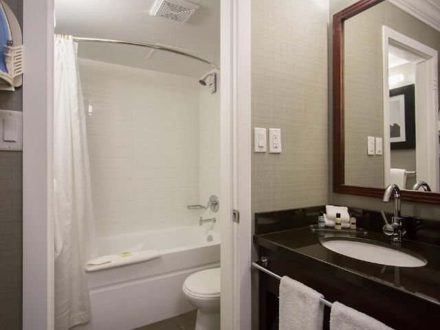 Sandman Inn & Suites - badkamer