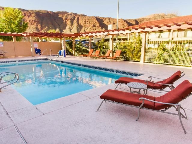 Hotel Moab Downtown - zwembad
