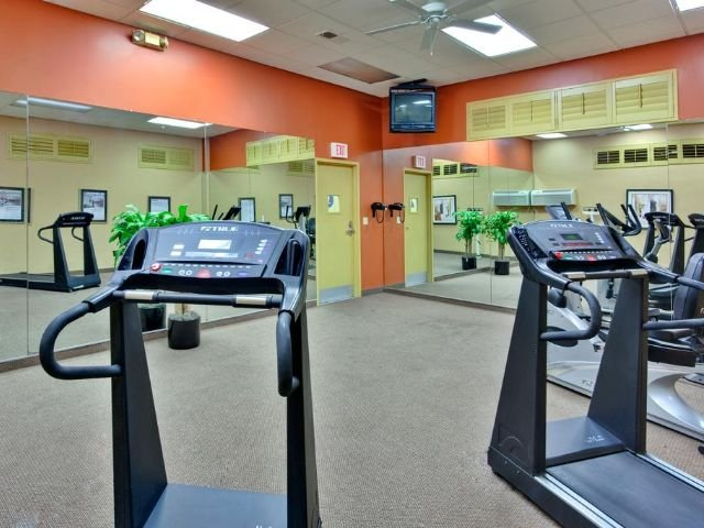 Holiday Inn Los Angeles - fitnessruimte