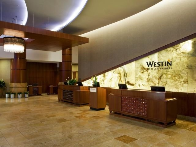 the westin new york grand central - receptie