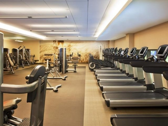 the westin new york grand central - fitnessruimte