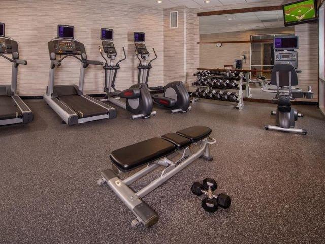 marriott courtyard washington - fitnessruimte