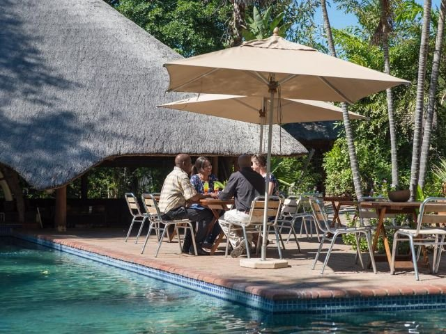 sefapane lodge and safaris - terras