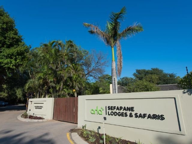 sefapane lodge and safaris - vooraanzicht