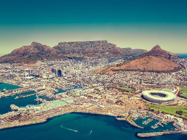 Zuid-Afrika / Foto van bovenaf