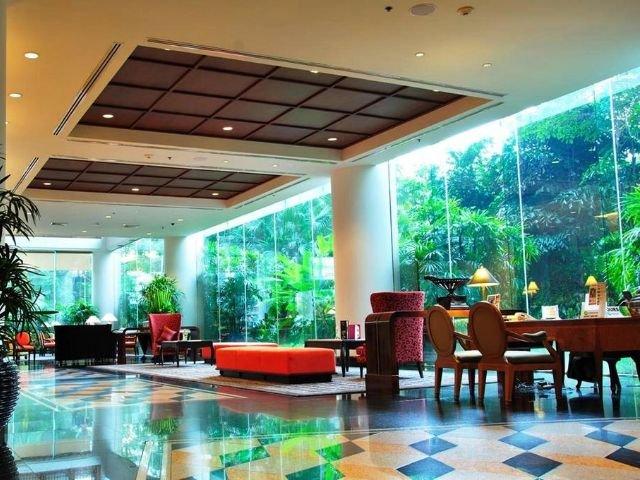 century park hotel - lobby