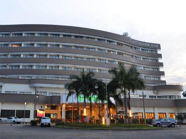 amari loei palace hotel - vooraanzicht