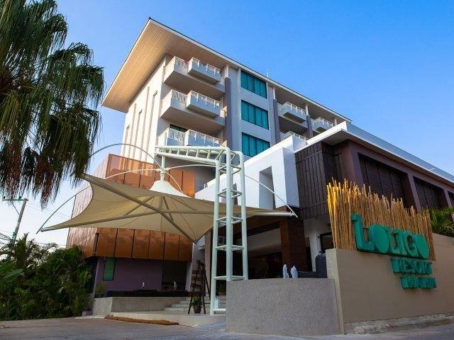 loligo resort - vooraanzicht