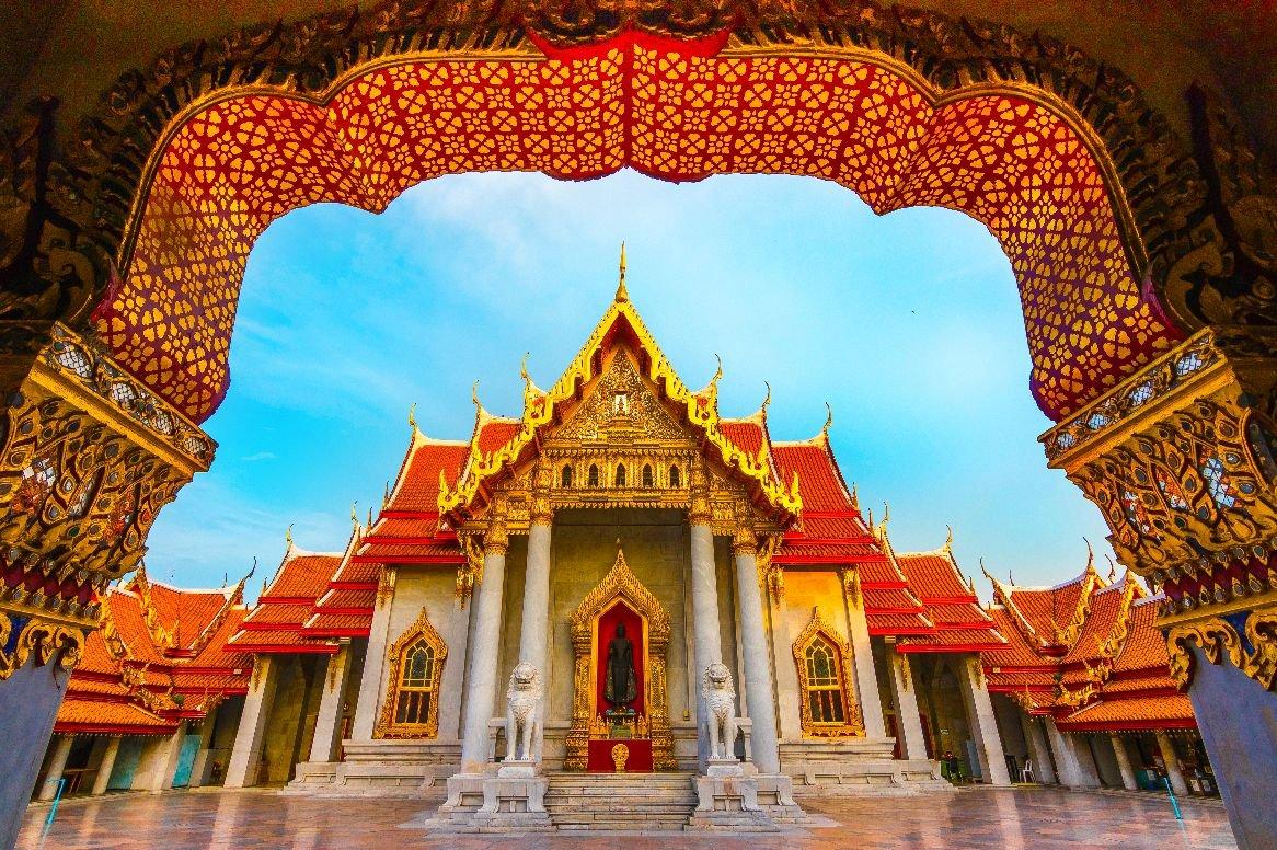 Thailand - Bangkok, Marble Temple