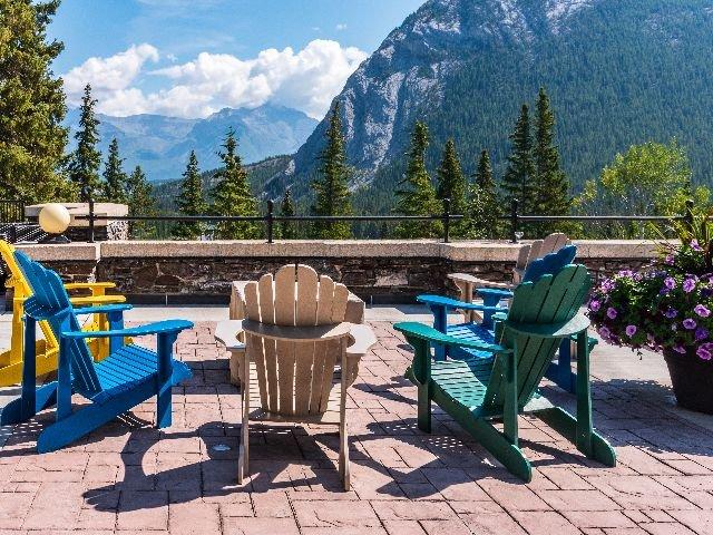 Canada - typische Canadese muskoka stoelen