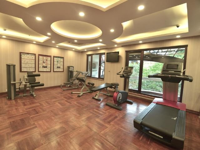 thien thai hotel - fitnesscentrum