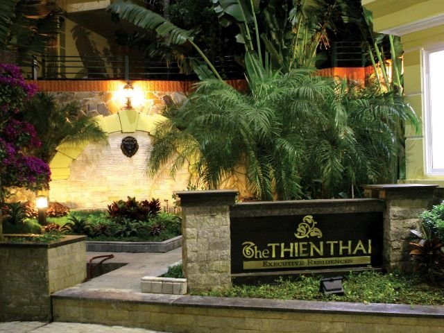 thien thai hotel - vooraanzicht