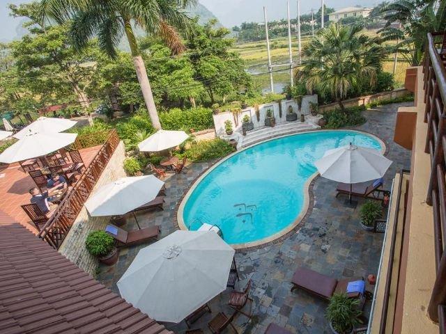 Mai Chau Lodge - zwembad