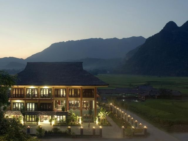 Mai Chau Lodge - vooraanzicht