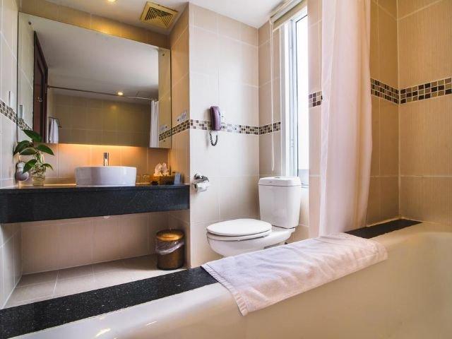mondial hotel - badkamer