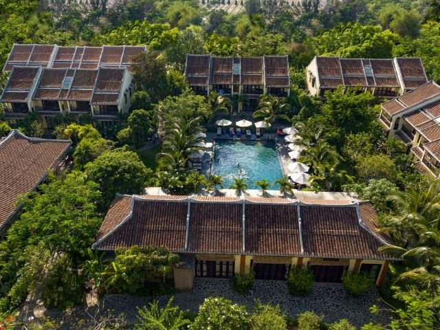 Hoi An Silk Village Resort & Spa - bovenaanzicht