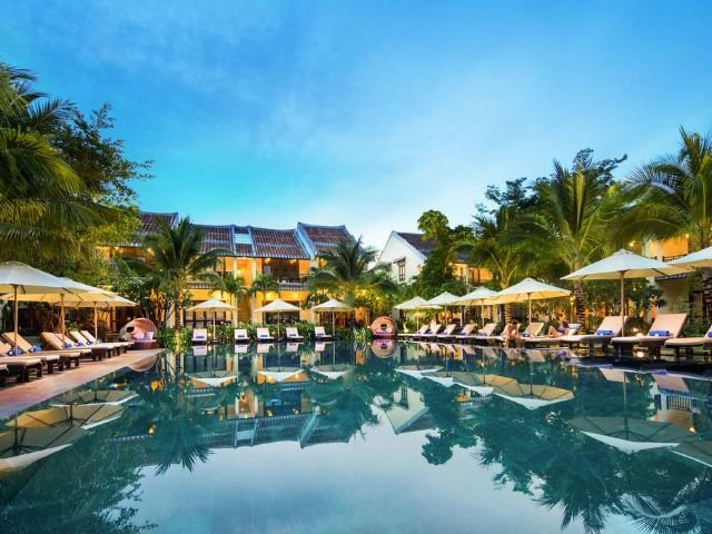 Hoi An Silk Village Resort & Spa - zwembad