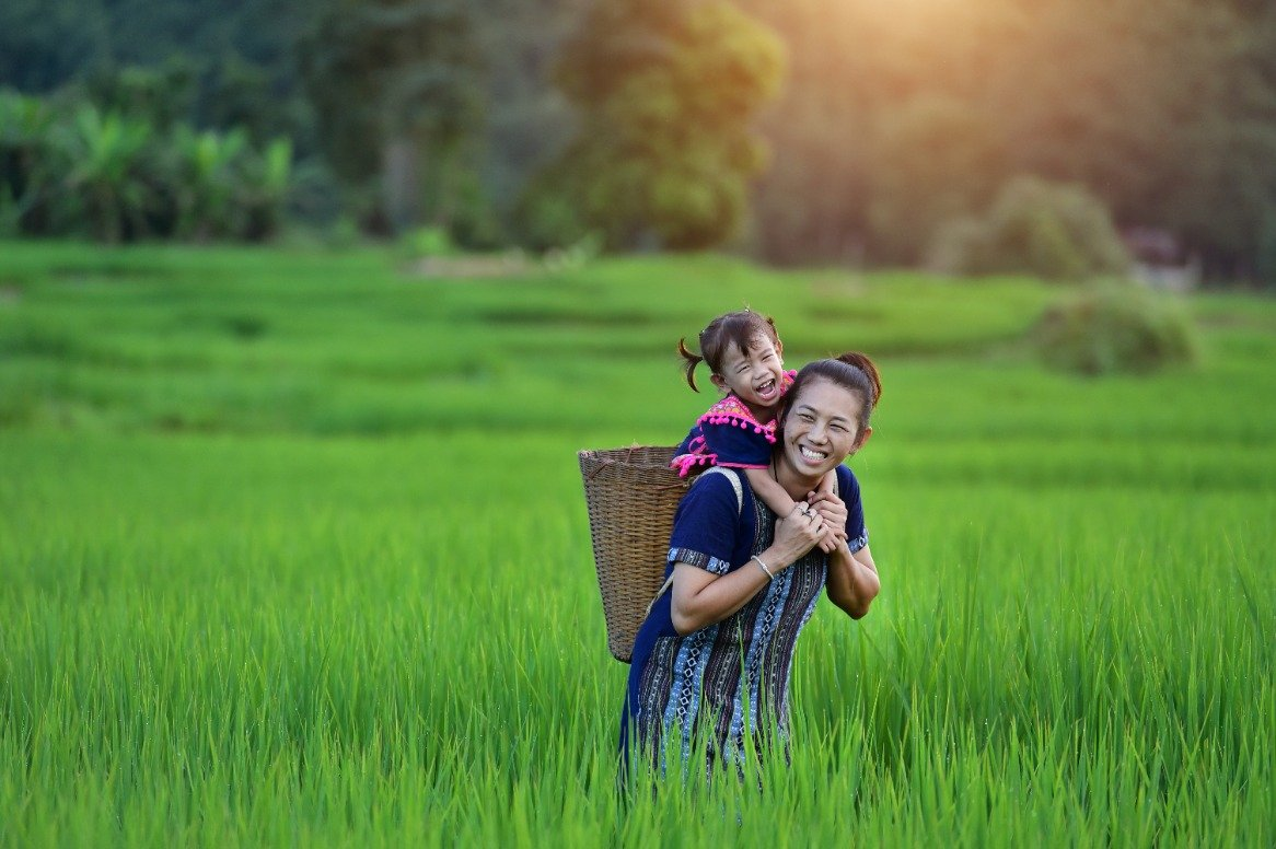 Vietnam - vietnamees gezin
