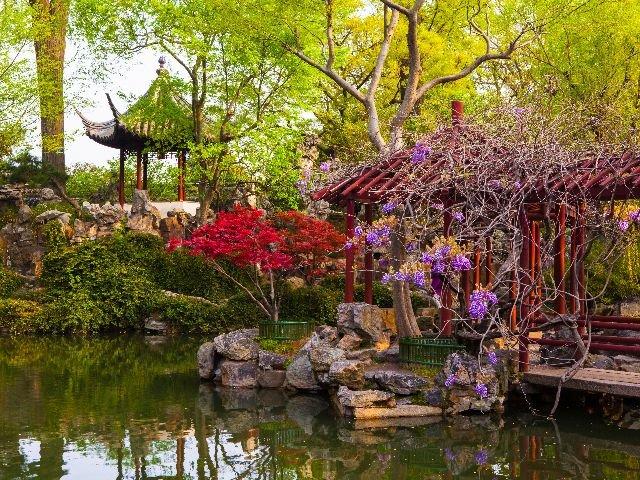 China - Suzhou stadstuin