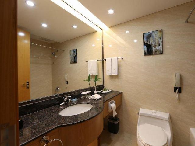 Aurum International Hotel - badkamer