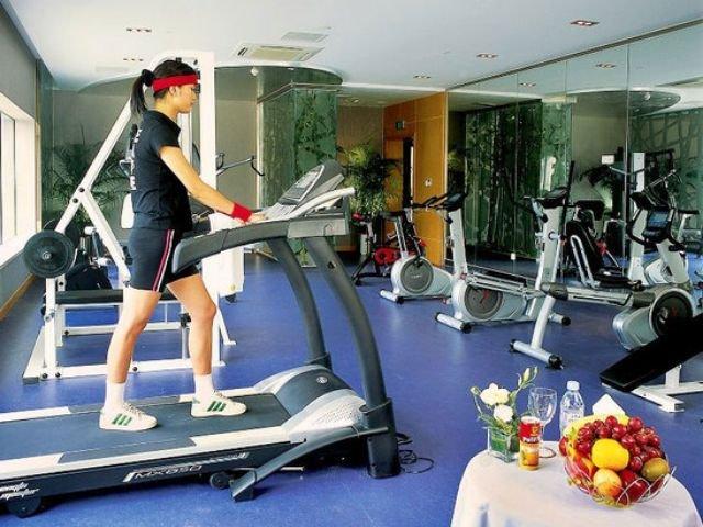 Aster Hotel - fitnessruimte