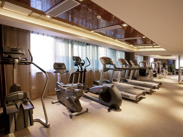 Best Western Meiyuan Hotel - fitnessruimte