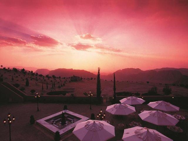 Movenpick Nabatean Castle Hotel - terras
