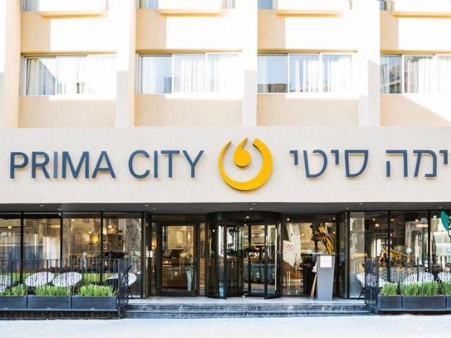 Prima City Hotel - vooraanzicht