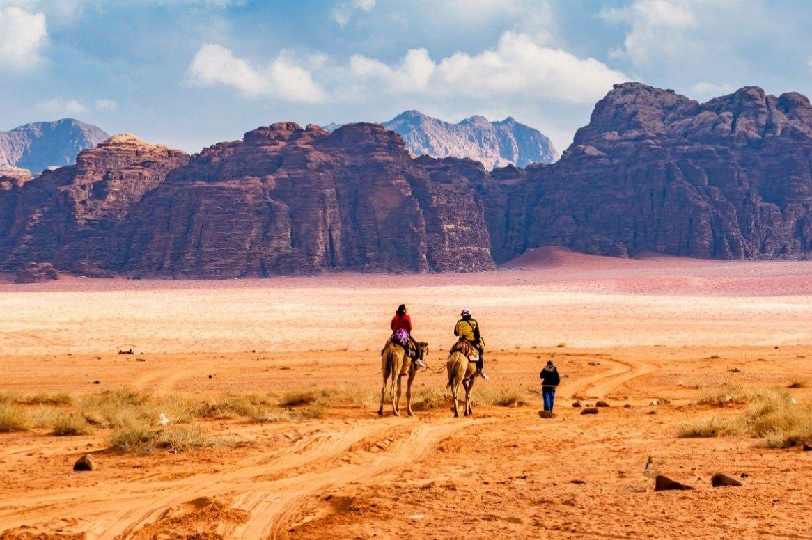 Jordanië - Israël - woestijn