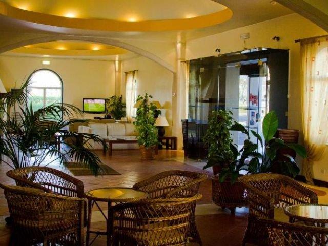 Portugal - Évora - hotel dom fernando - lounge