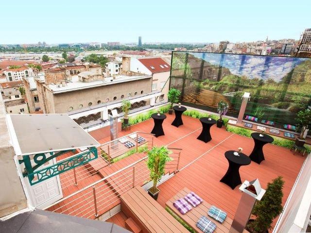 Belgrado - Hotel Prag **** - dakterras