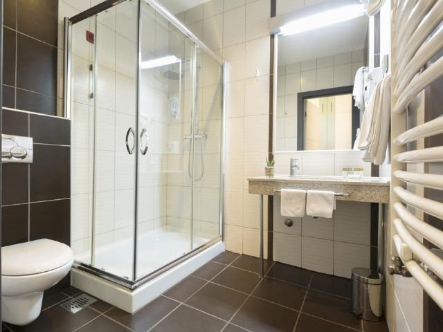 Belgrado - Hotel Prag **** - voorbeeld badkamer