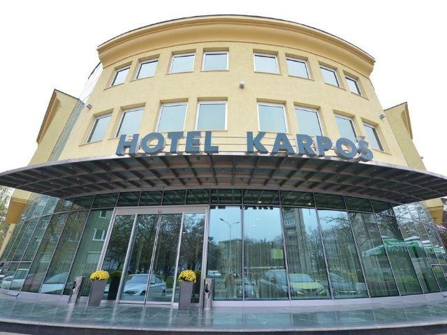 Skopje - Hotel Karpos **** - vooraanzicht