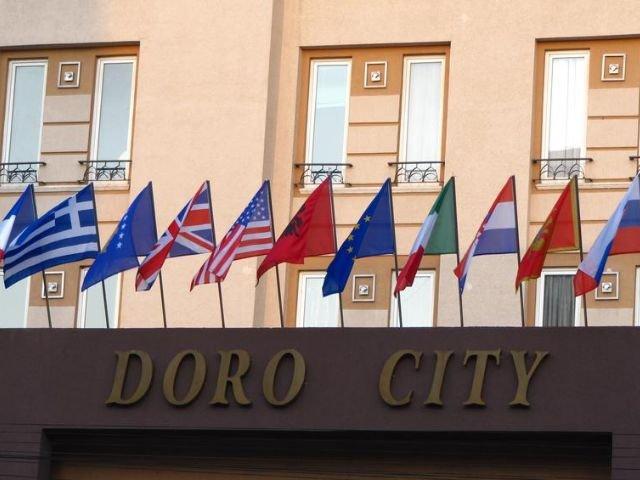 Tirana - Hotel Doro City **** - vooraanzicht