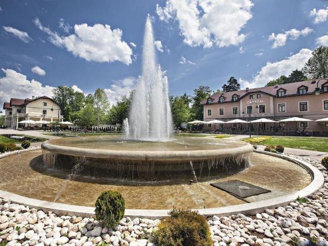 Sarajevo - Hotel Hercegovina **** - tuin