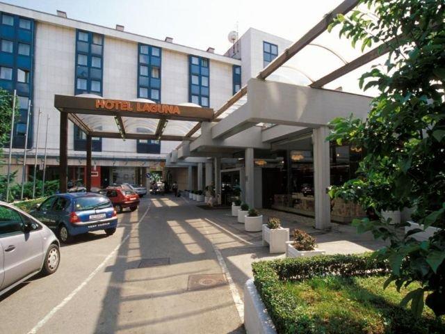 Zagreb - Hotel Laguna *** - vooraanzicht